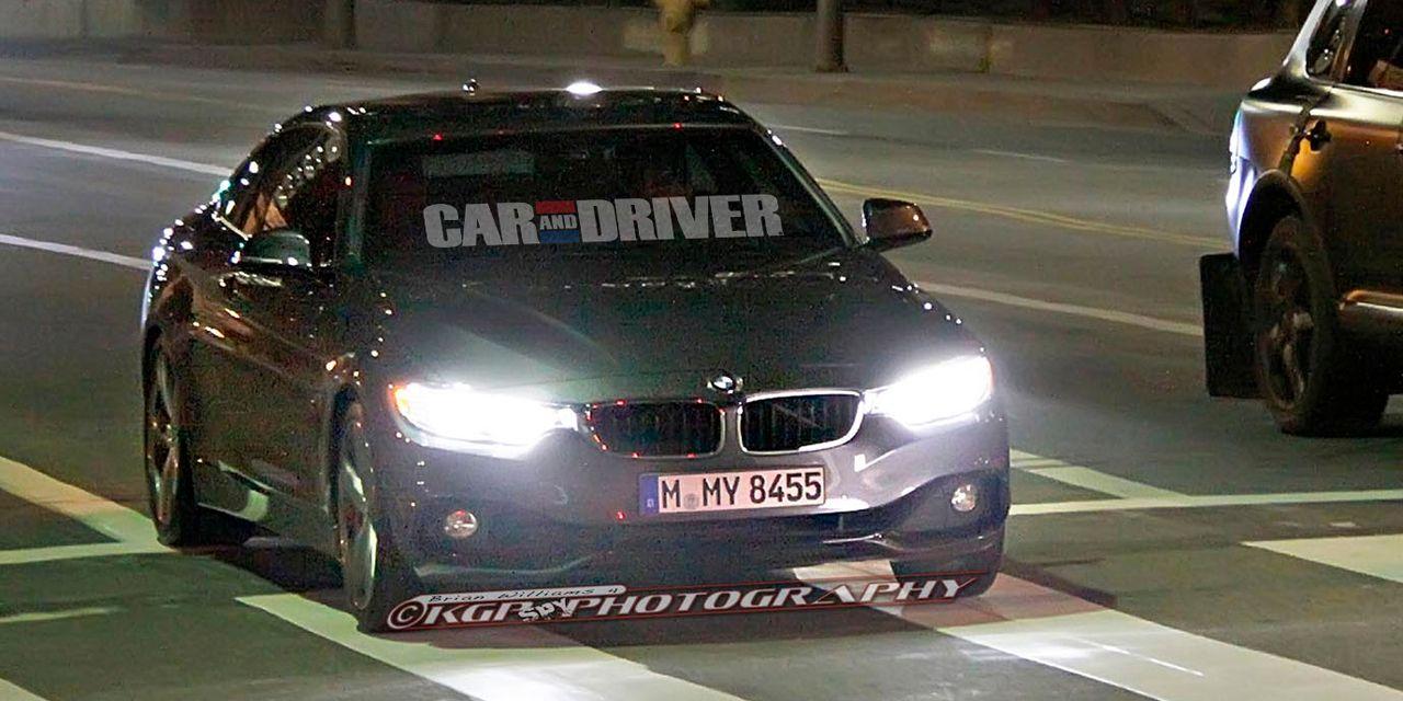 2014 BMW 4-series Spy Photos