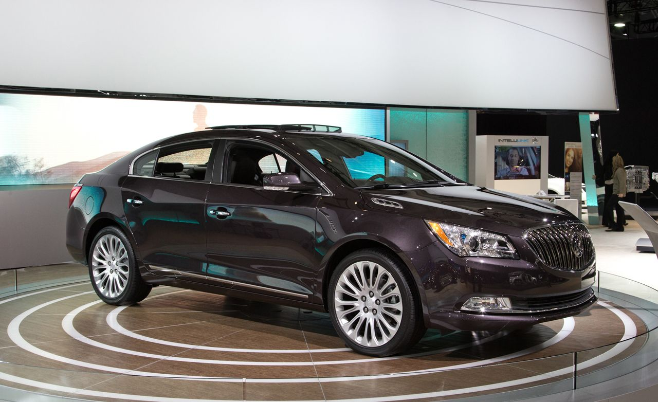 2014 Buick LaCrosse Photos And Info