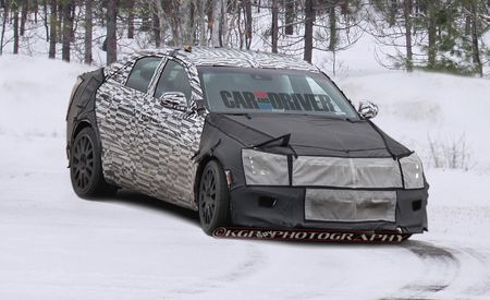 2014 Cadillac ATS-V Spy Photos