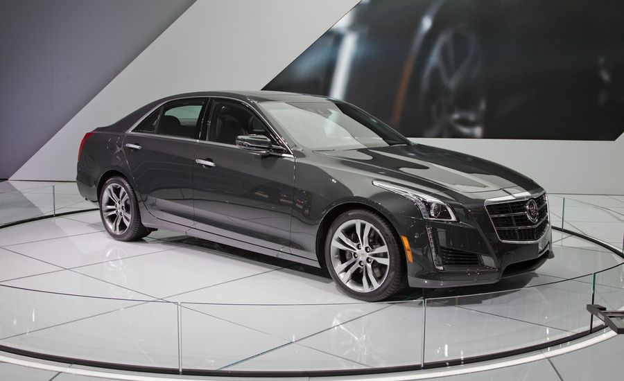 2014 cadillac cts sedan photos and info news car and driver. Black Bedroom Furniture Sets. Home Design Ideas