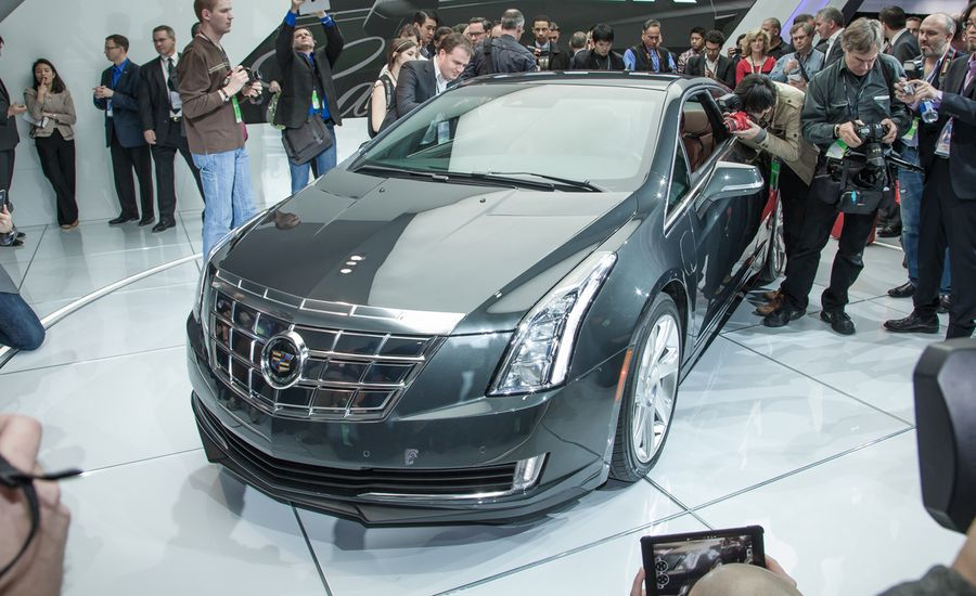 2014 cadillac elr photos and info news car and driver 2014 cadillac elr sciox Choice Image
