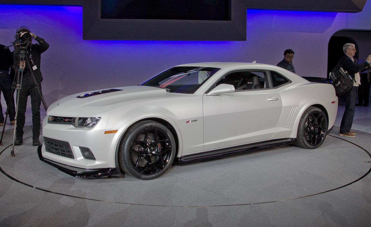 2014 chevrolet camaro z 28 officially unveiled news car and driver