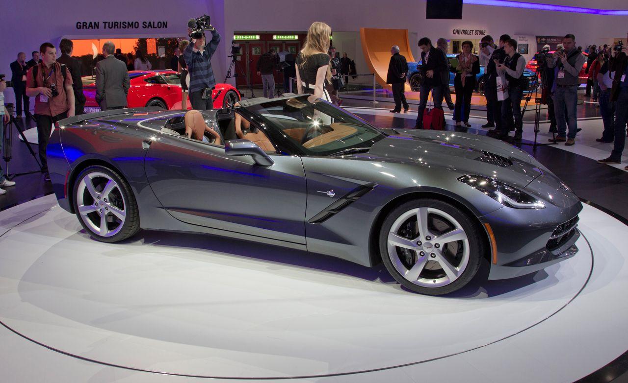 2014 chevrolet corvette c7 stingray convertible photos and info news car and driver