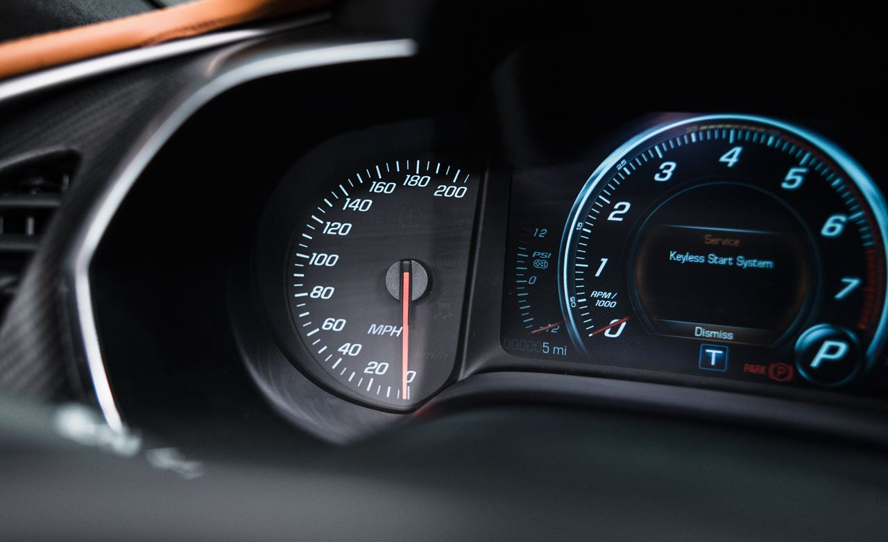 2014 Chevrolet Corvette C7 Supercharger Boost Gauge Spotted!