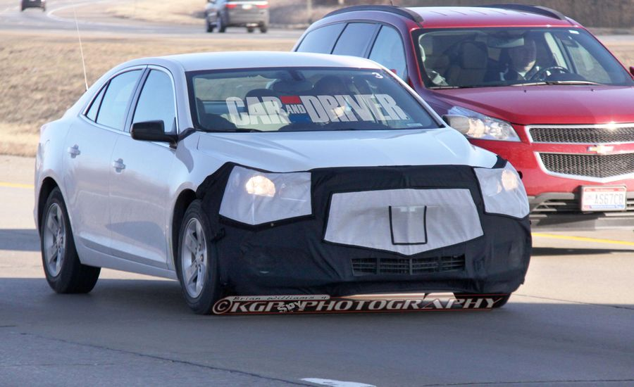 2014 Chevrolet Malibu Spy Photos