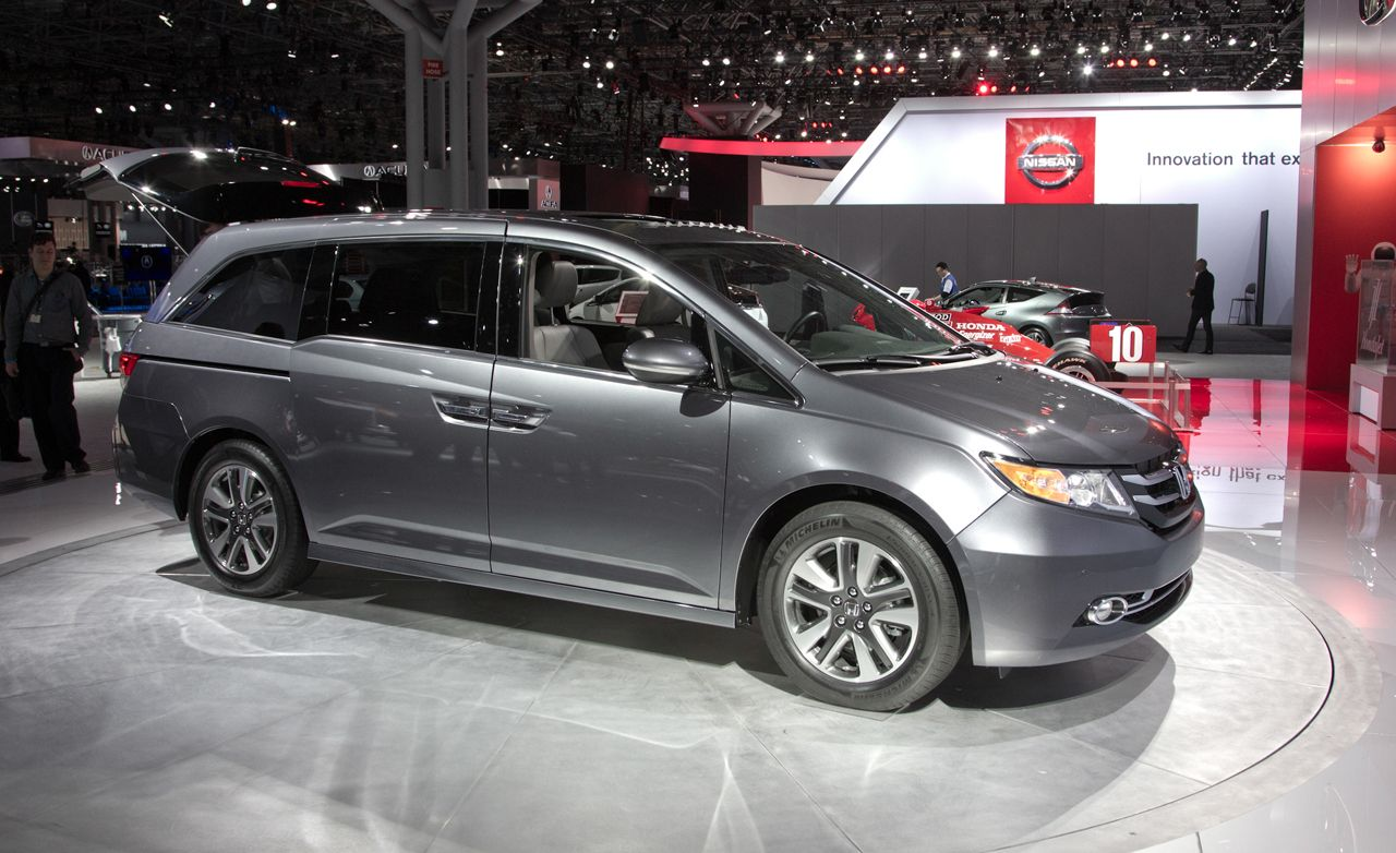 2014 Honda Odyssey Official Photos and Info  News  Car and Driver