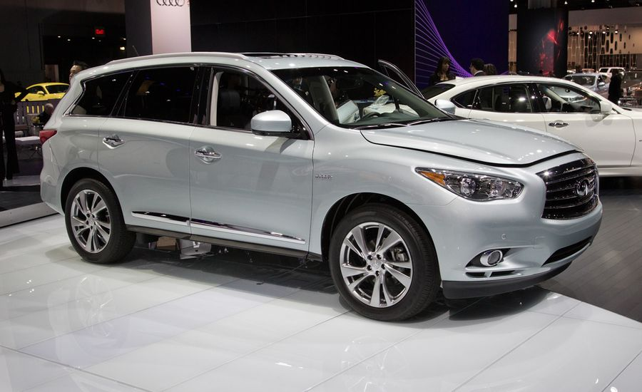 2014 infiniti qx60 hybrid photos and info news car and driver. Black Bedroom Furniture Sets. Home Design Ideas