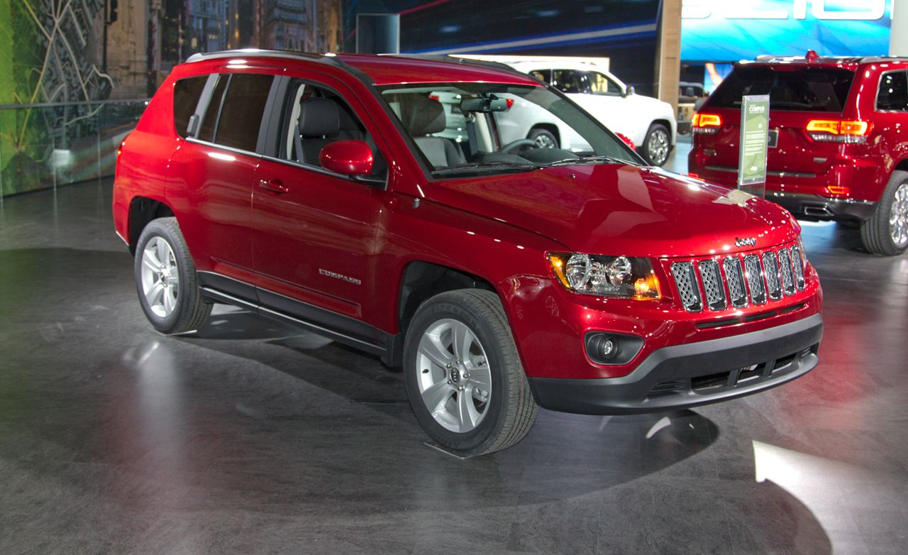 2008 jeep compass reviews car and driver