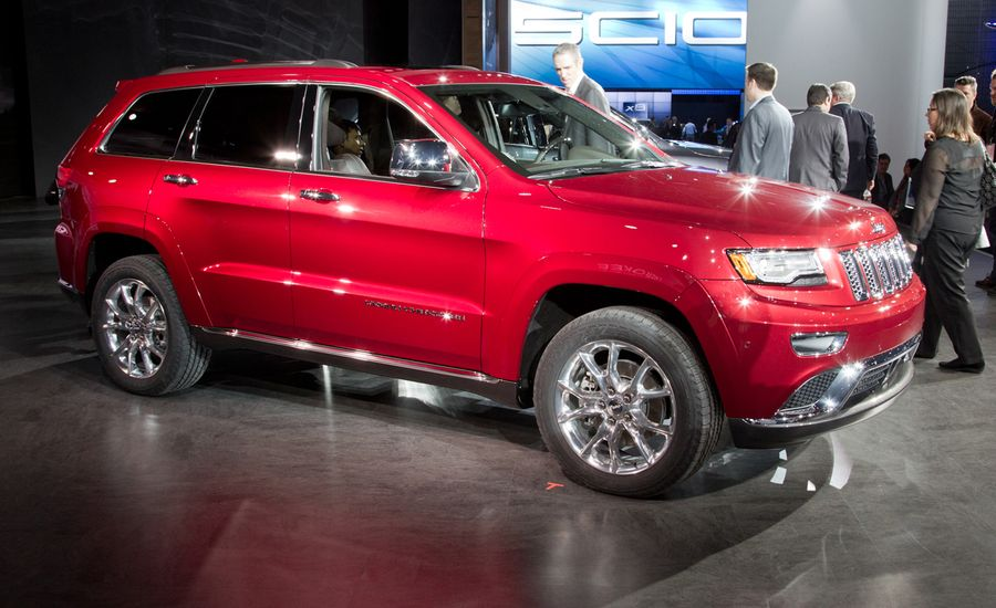 2014 Jeep Grand Cherokee: New Looks, New Trim, New Diesel