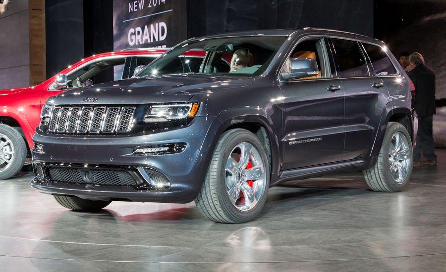 2014 jeep grand cherokee srt photos and info news car and driver 2014 jeep grand cherokee srt sciox Images