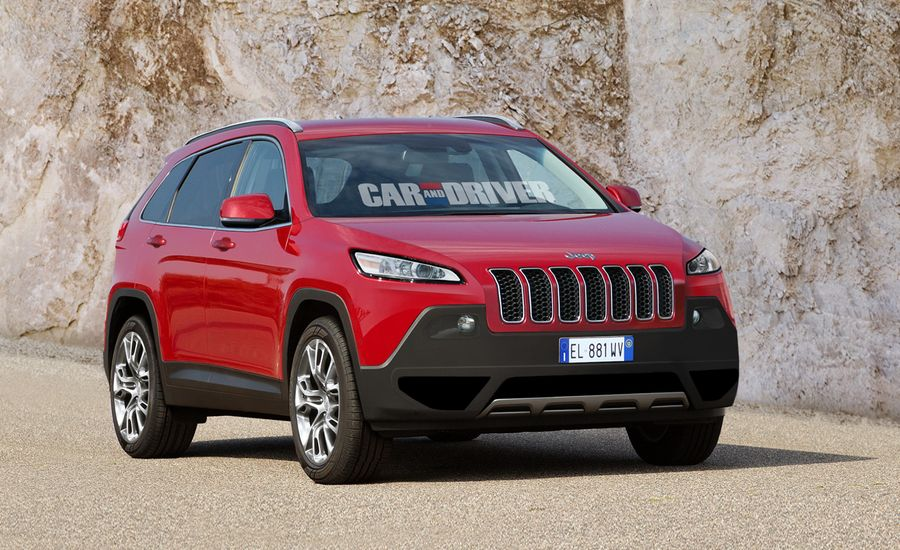 2014 Jeep Liberty / Cherokee Rendered, Detailed