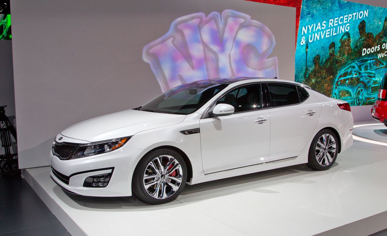 2014 kia optima photos and info news car and driver. Black Bedroom Furniture Sets. Home Design Ideas