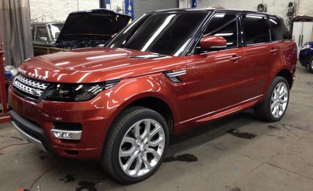 2014 Land Rover Range Rover Sport Caught Uncovered in Garage