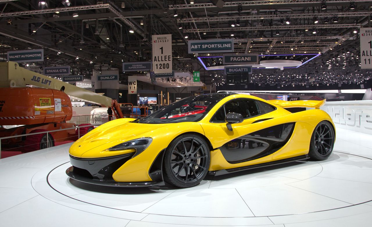 2014 McLaren P1: $1.15M, F1 Style Tech, And Limited To 375