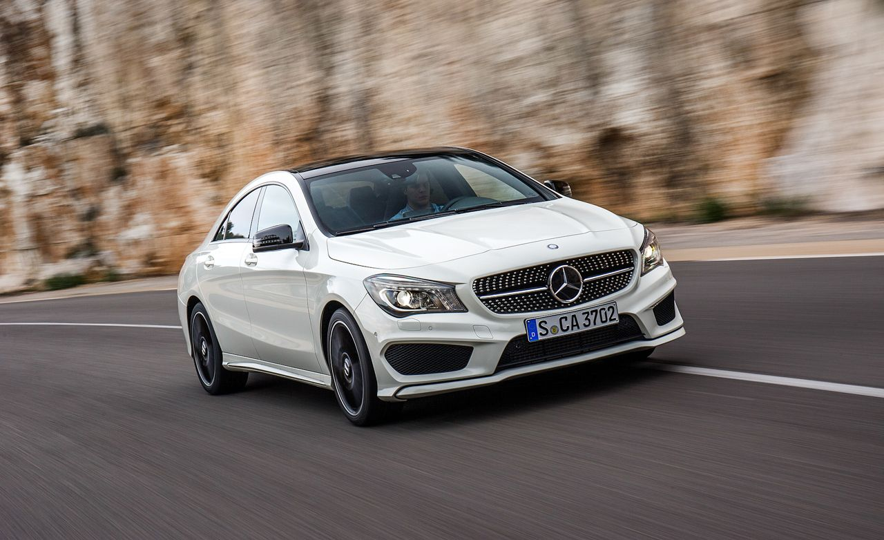 Superb 2014 Mercedes Benz CLA250 / CLA250 4MATIC