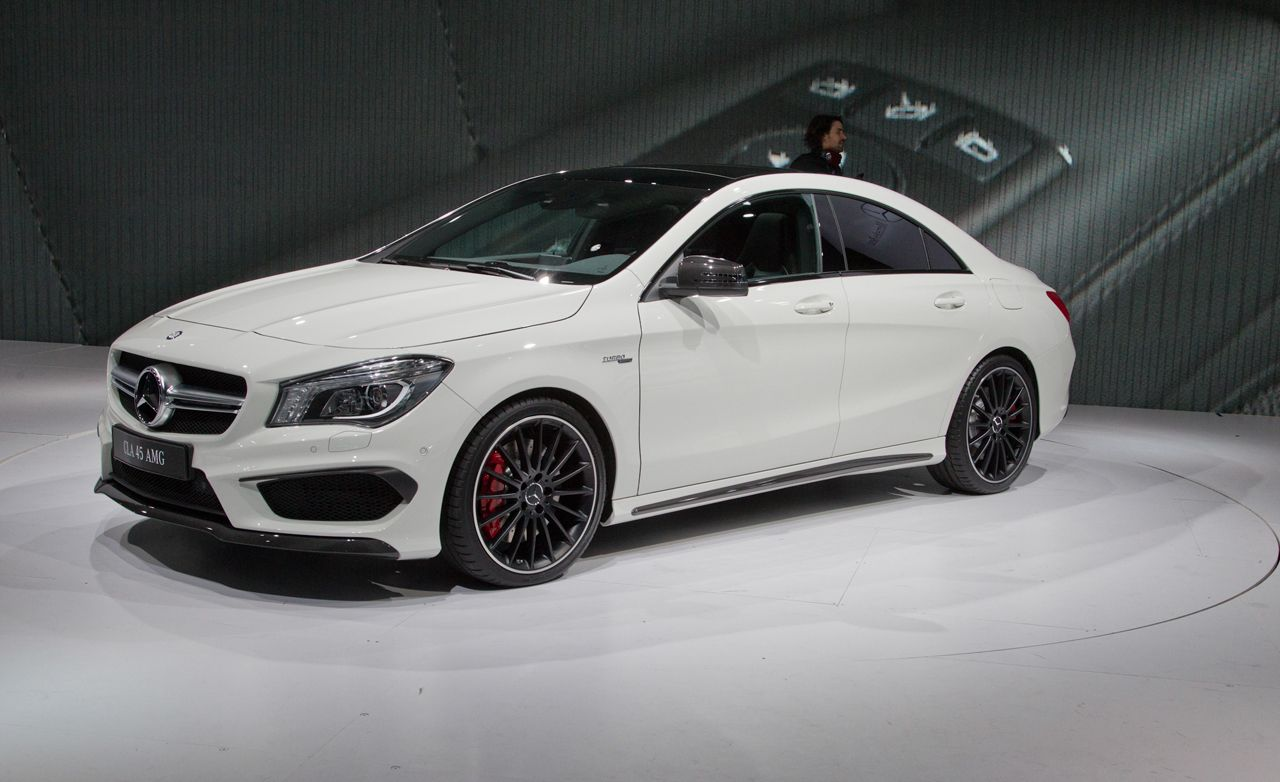 2014 mercedes benz cla45 amg photos and info news car. Black Bedroom Furniture Sets. Home Design Ideas