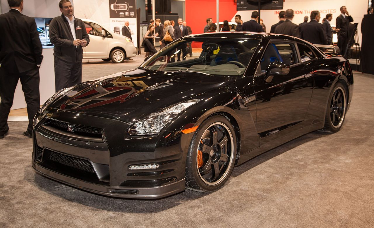 2014 Nissan GT R Track Edition