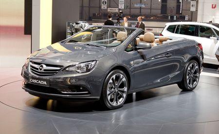 2014 Opel Cascada Convertible