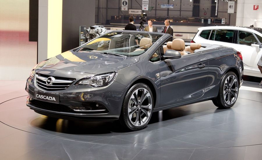 2014 Opel Cascada Convertible Photos and Info – News – Car ...