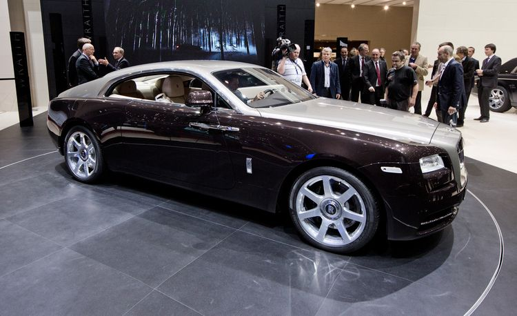 2014 Rolls-Royce Wraith: Much More than a Ghost Coupe