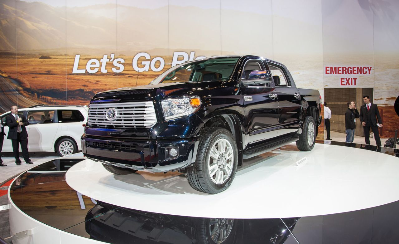 2014 Toyota Tundra: Chiseled Looks, Carry-Over Engines