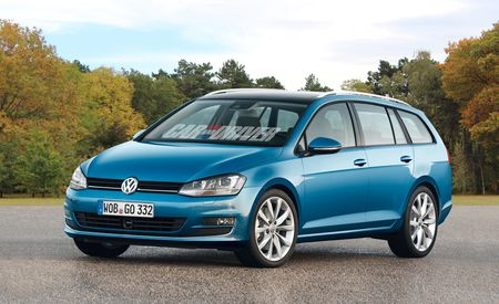 2014 Volkswagen SportWagen Renderings and Spy Photos