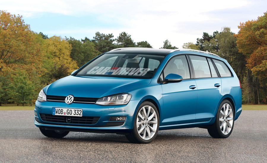2014 Volkswagen SportWagen Renderings and Spy Photos