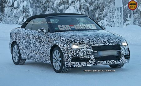 2015 Audi S3 Cabriolet Spy Photos
