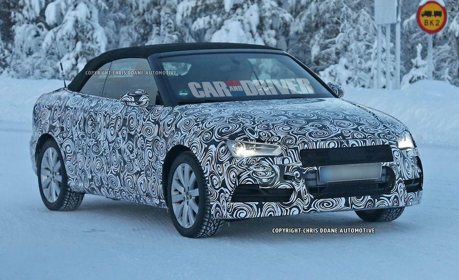 2015 Audi S3 Cabriolet Spy Photos