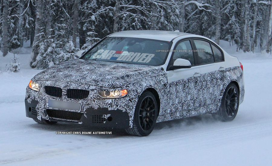 2015 BMW M3 Sedan Spy Photos
