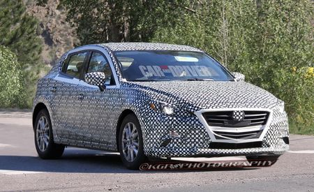 2015 Mazda 3 Spy Photos