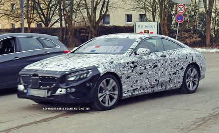 2015 Mercedes-Benz S-class Coupe Spy Photos