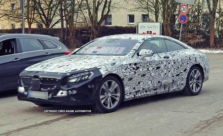2015 Mercedes-Benz S-class Coupe Spy Photos