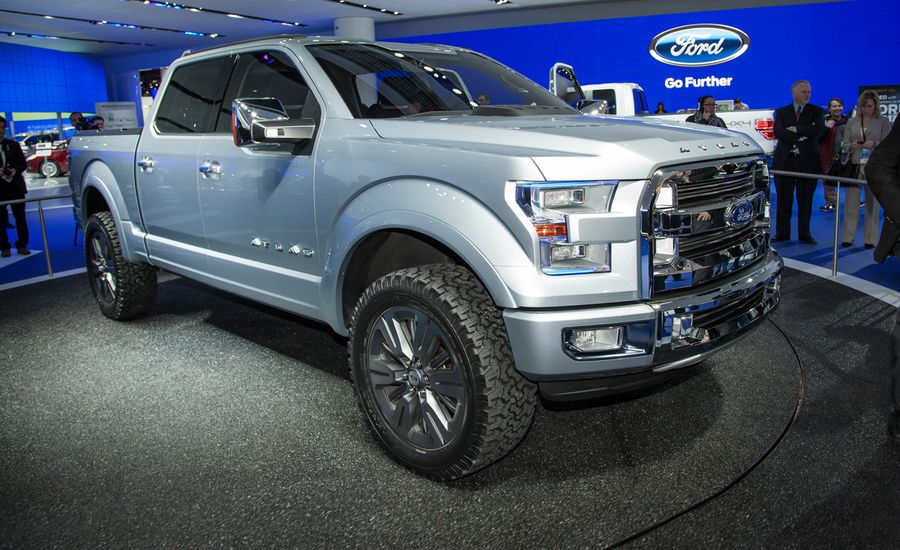 Ford Atlas Concept Photos and Info – News – Car and Driver