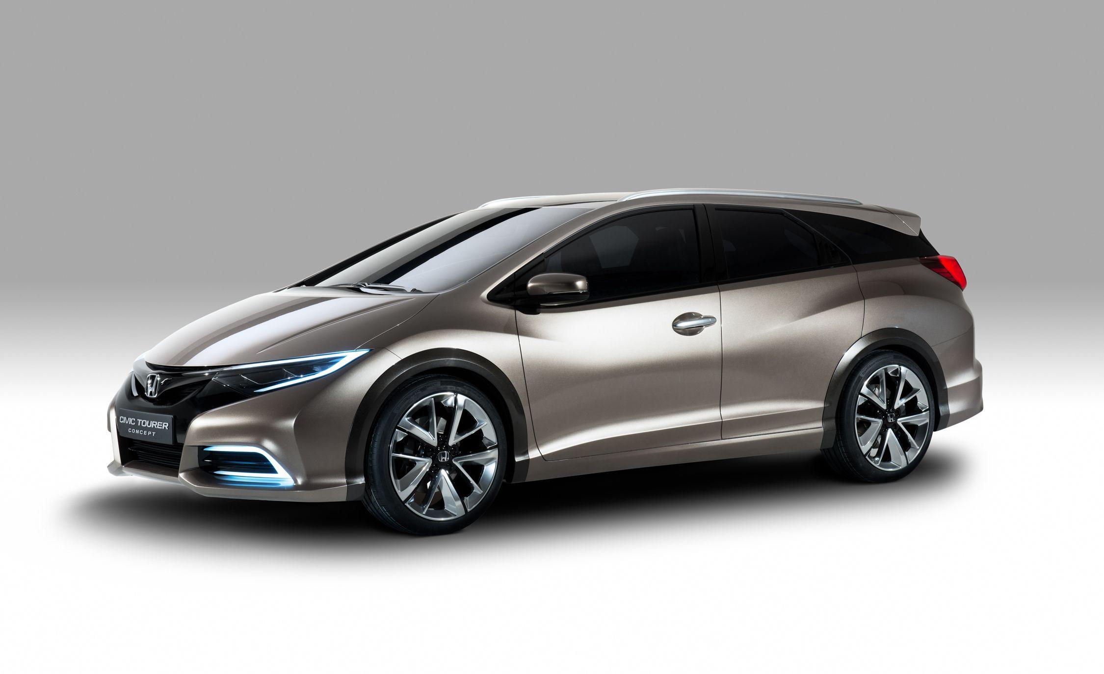 Honda Civic Tourer Concept: A Wagon for the Continent