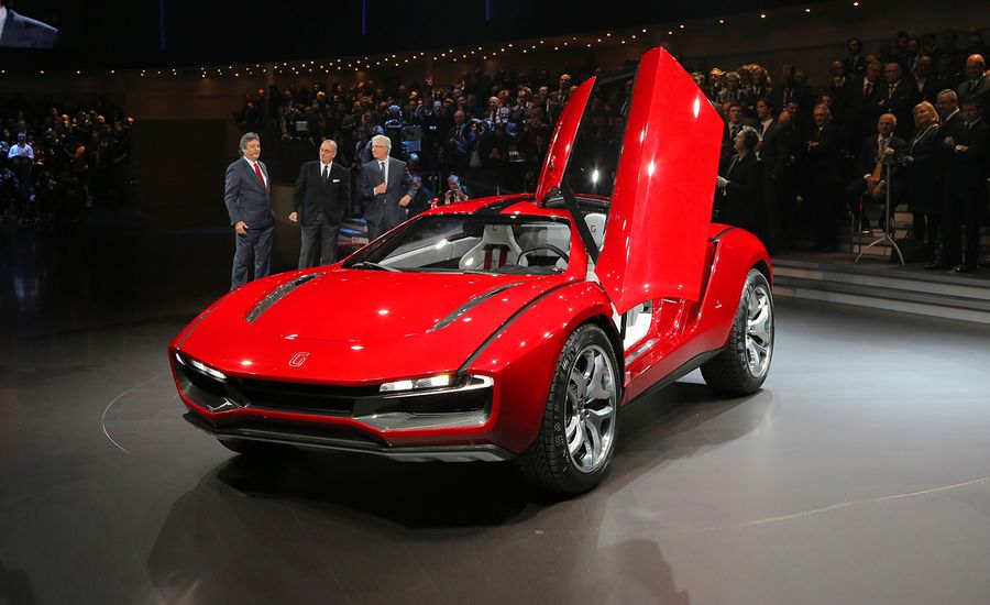 Italdesign Giugiaro Parcour Coupe And Roadster Concepts News Car