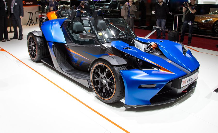 KTM X-Bow GT: Now With a Windshield and Doors