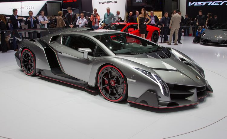 Lamborghini Veneno: Just Three of These Will Ever Exist