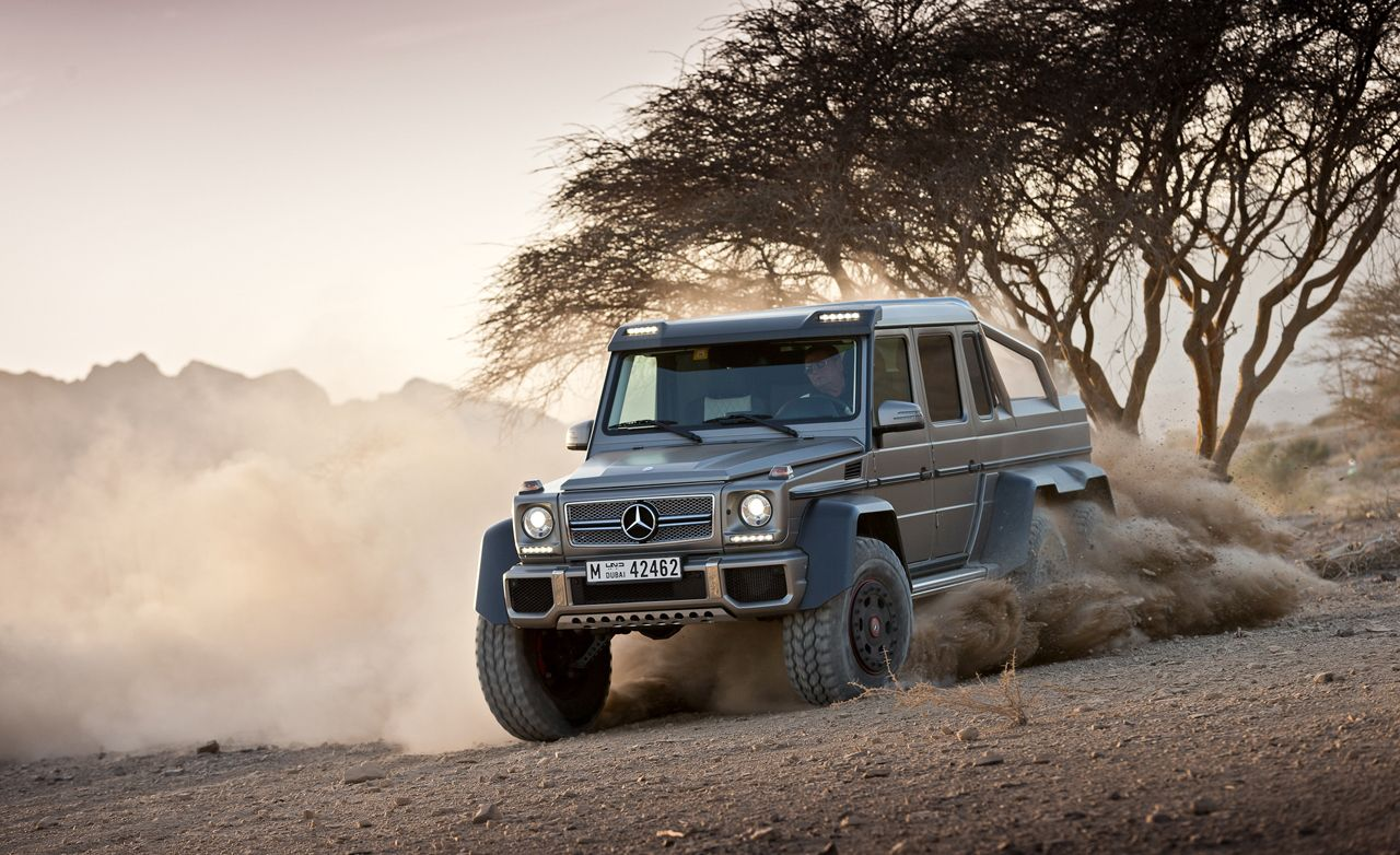 Mercedes Gx6 Wiki >> Mercedes Benz G63 Amg 6x6 Concept Photos And Info 8211 News