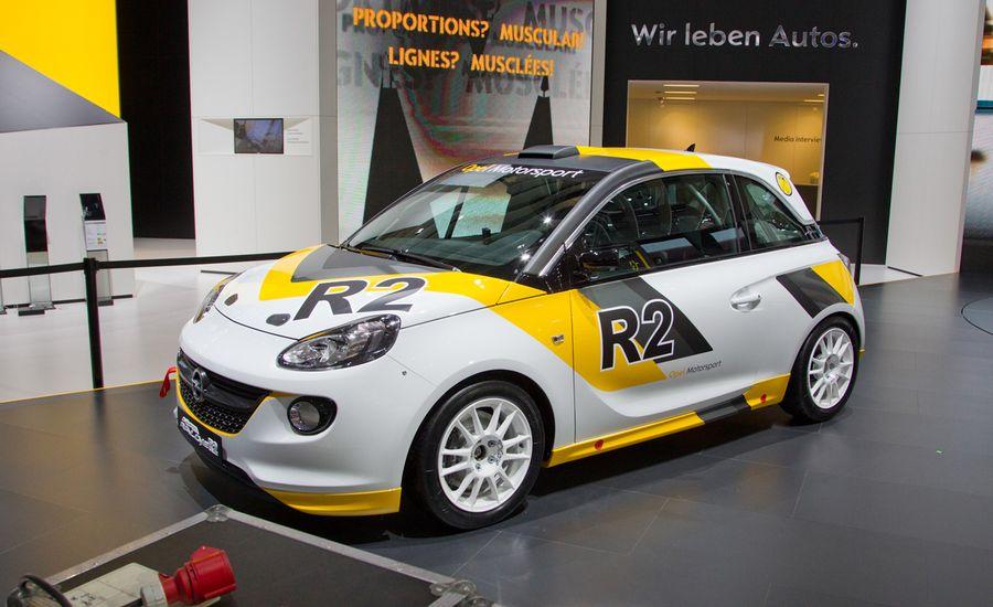 Opel Adam R2 Rally Concept