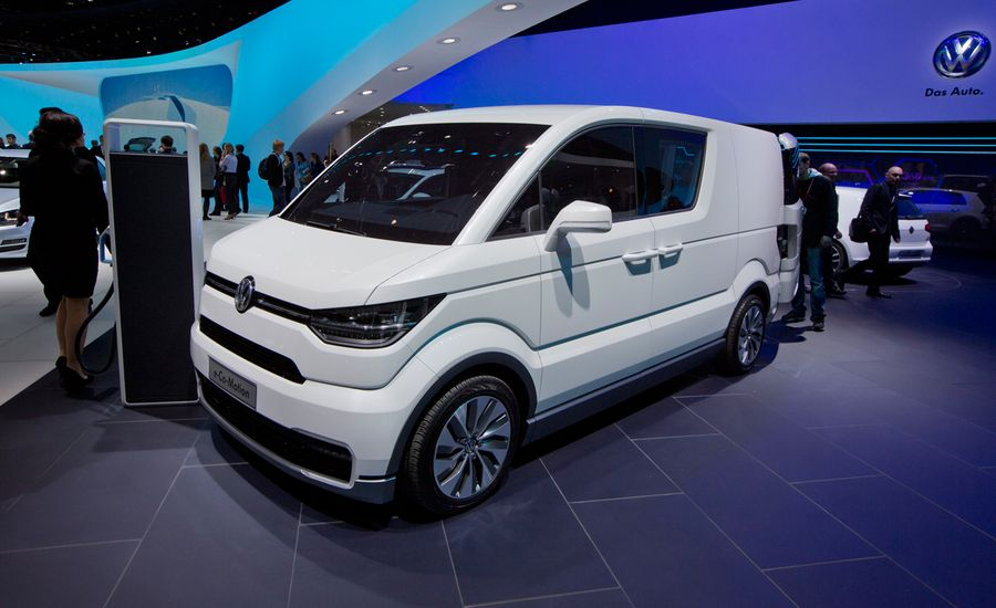 Volkswagen e-Co-Motion Concept