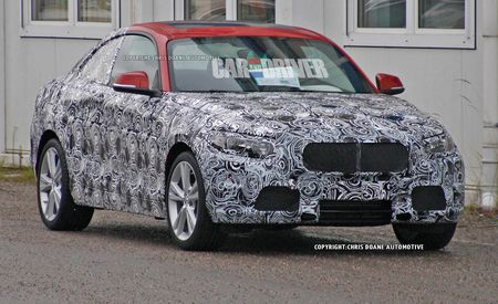 2014 BMW 2-series Spy Photos