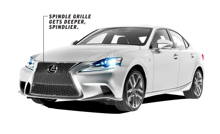 Dissected: All-New 2014 Lexus IS