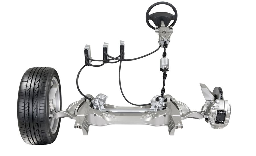 Electric Feel: Nissan Digitizes Steering, But the Wheel
