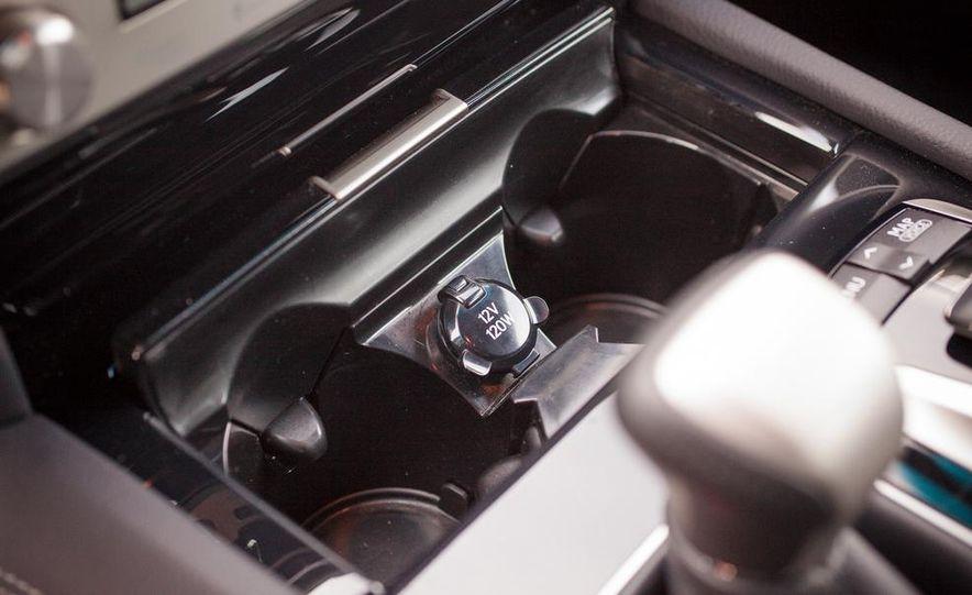 2013 Lexus LS460 F Sport - Slide 46