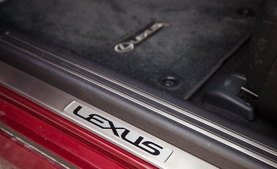 2013 Lexus LS460 F Sport - Slide 60