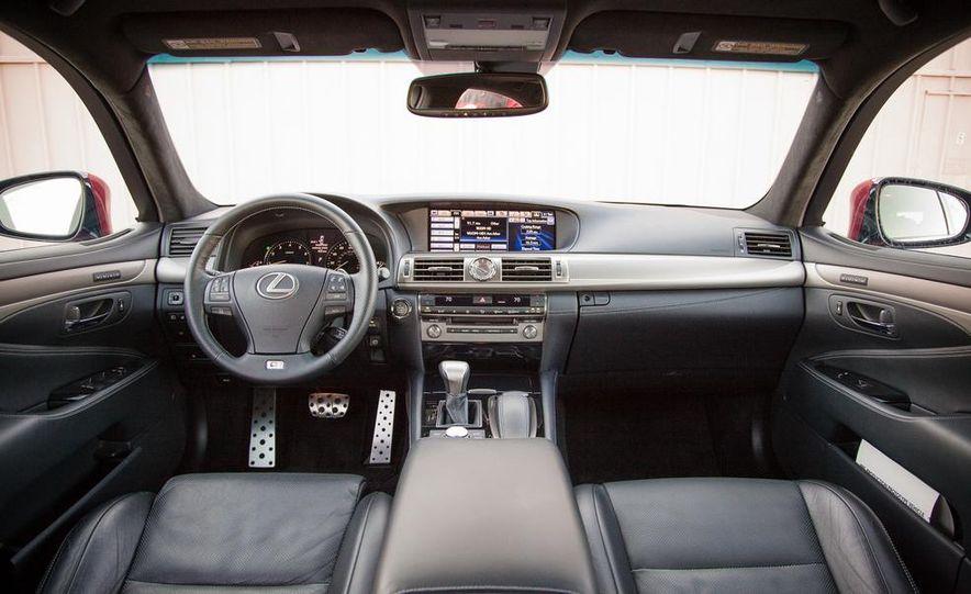 2013 Lexus LS460 F Sport - Slide 29