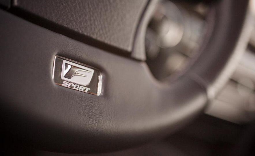 2013 Lexus LS460 F Sport - Slide 55
