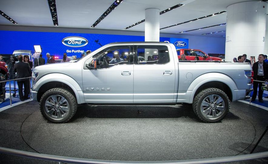 Ford Atlas concept  Photo Gallery  Car and Driver