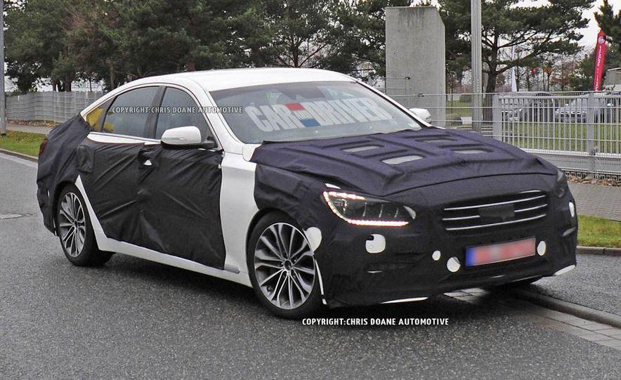 2014 Hyundai Genesis (spy photo) - Slide 24